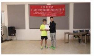 壁球國手趙文皓前進亞洲錦標賽為國爭光